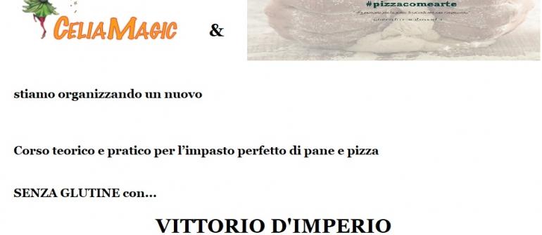 CORSO TEORICO PRATICO PER IMPASTARE PANE E PIZZA